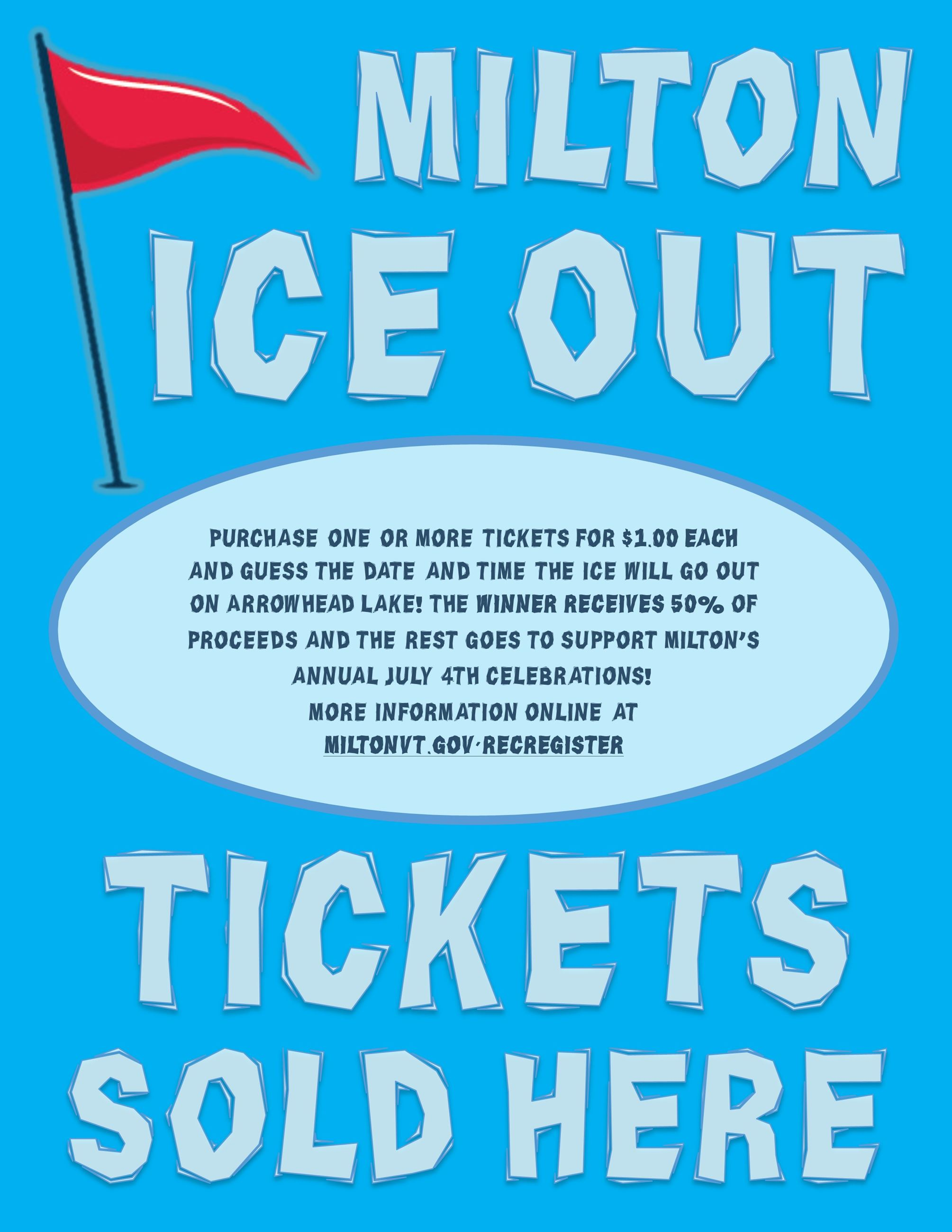 Ice Out Flyer